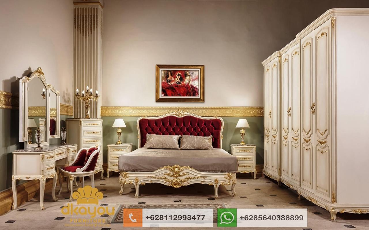 desain kamar pengantin classic mewah