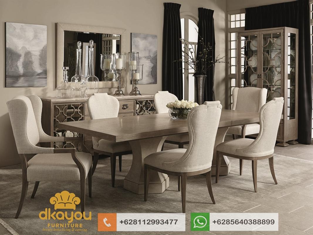 kursi meja makan set jati jepara