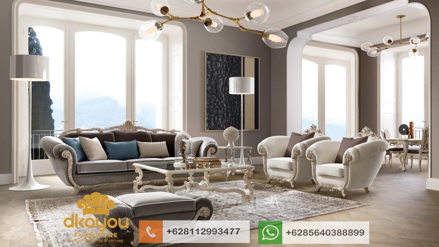 sofa mewah klasik terbaru mebel jepara