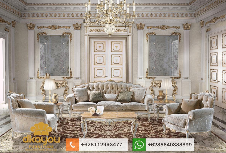 set kursi sofa klasik modern