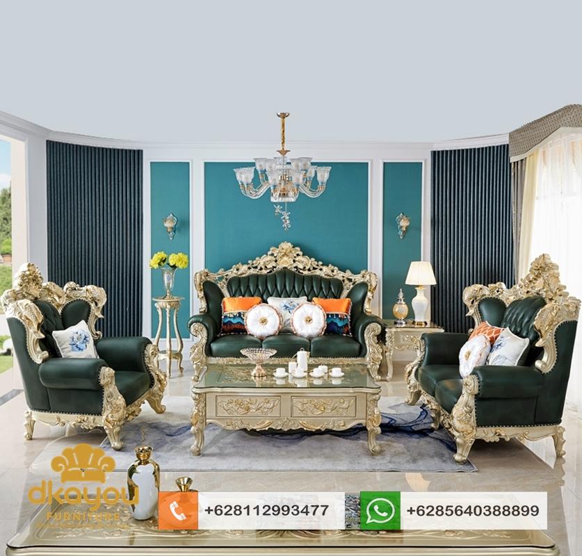 desain sofa tamu mewah terbaru