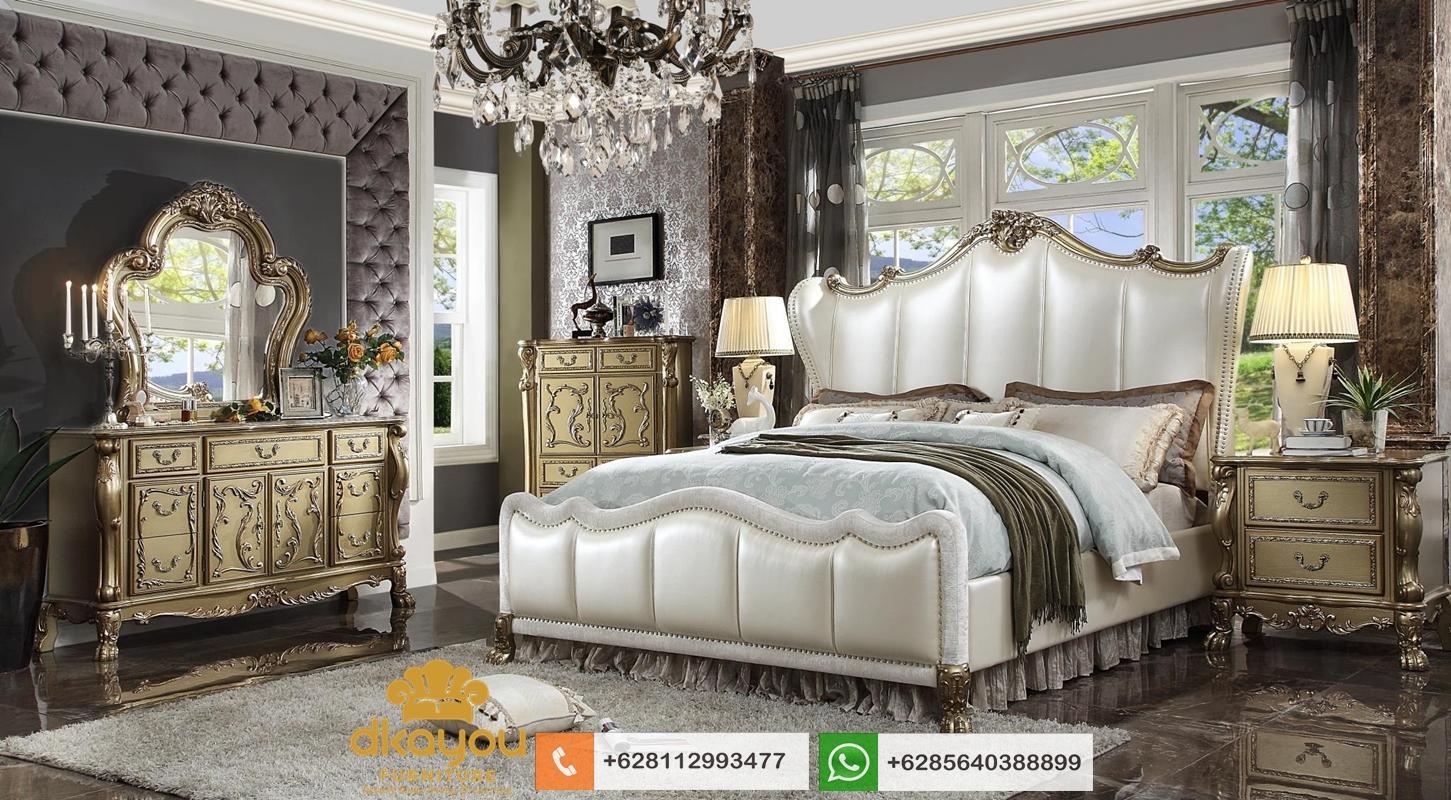 tempat tidur mewah klasik modern terbaru