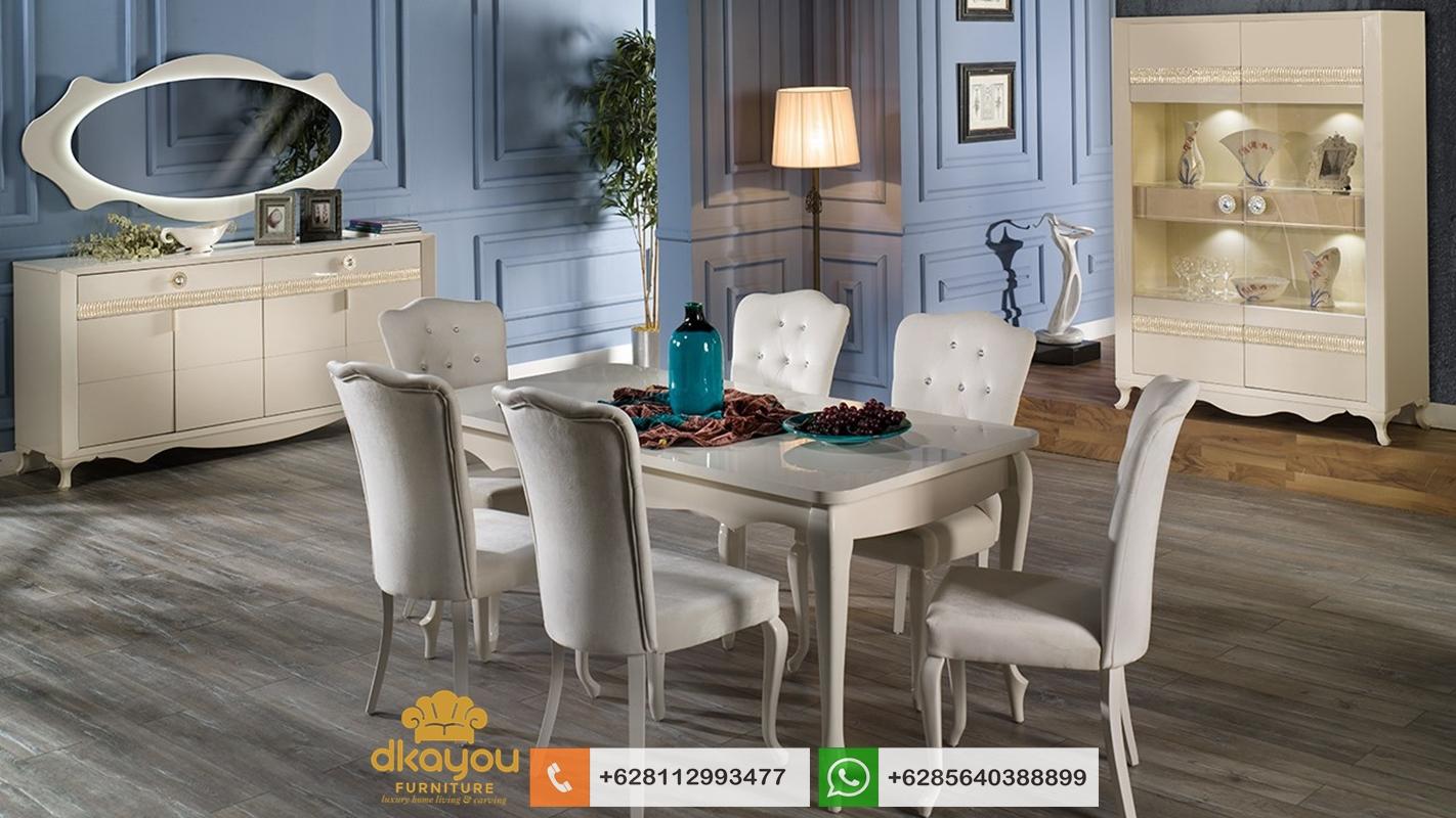 kursi meja makan minimalis modern terbaru