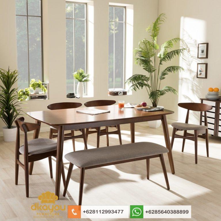kursi meja makan minimalis scandinavian