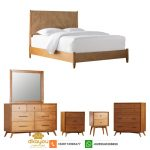 1 set tempat tidur minimalis