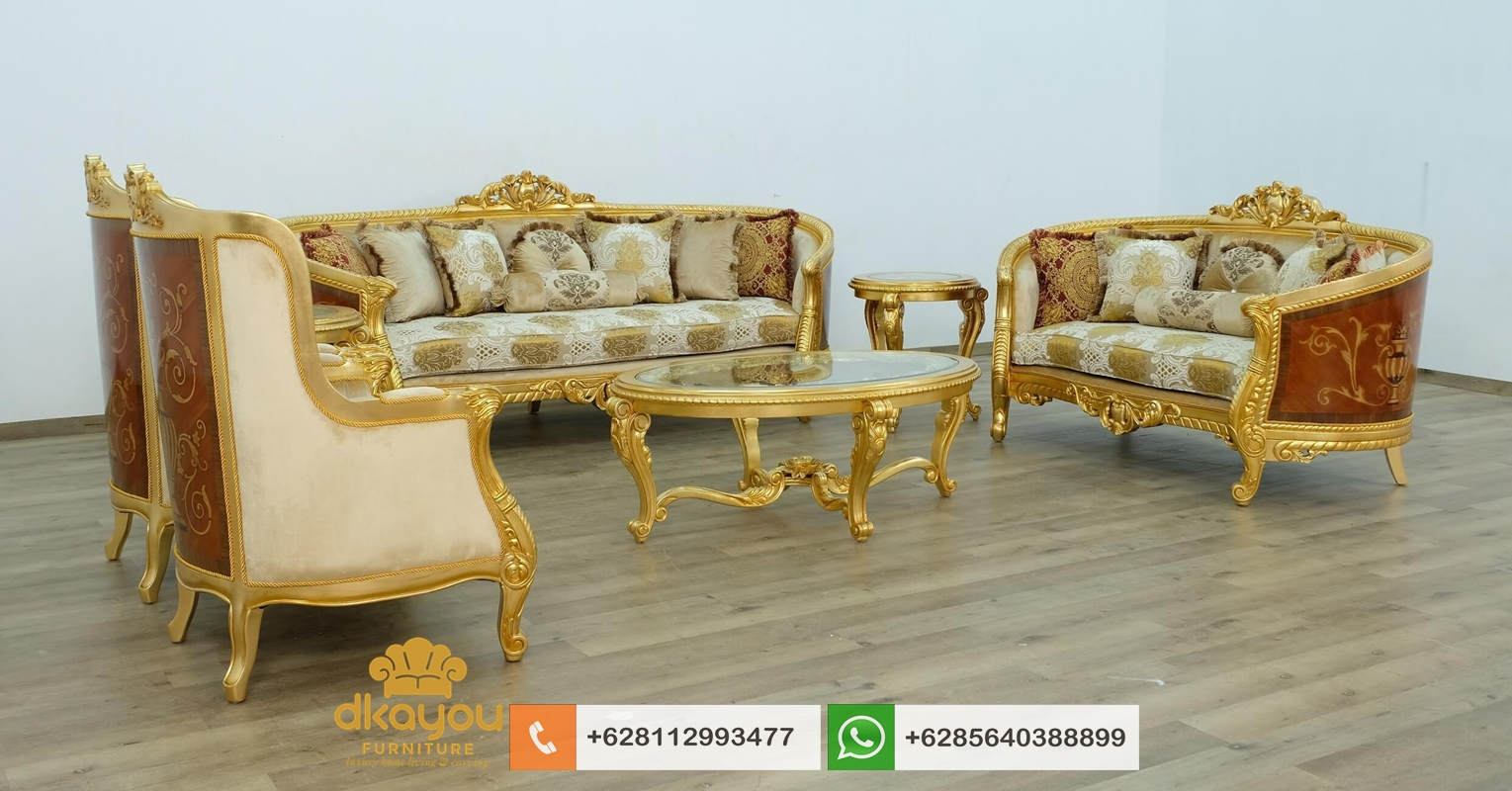sofa klasik mewah terbaru