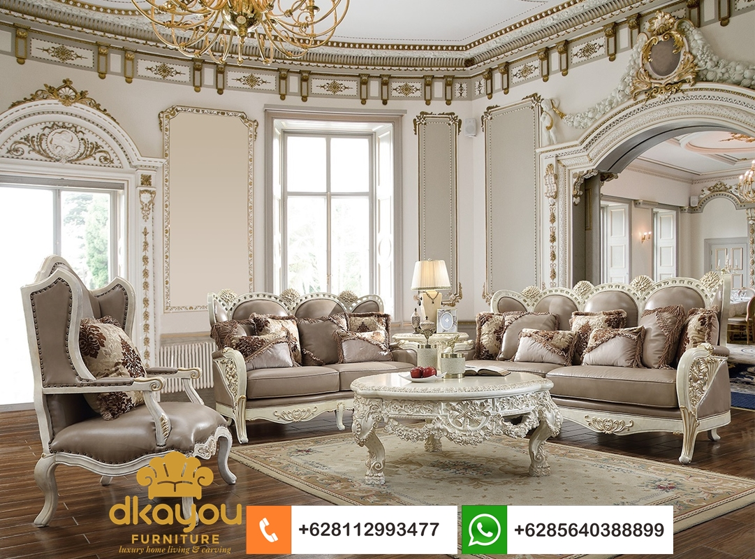 sofa mewah klasik terbaru