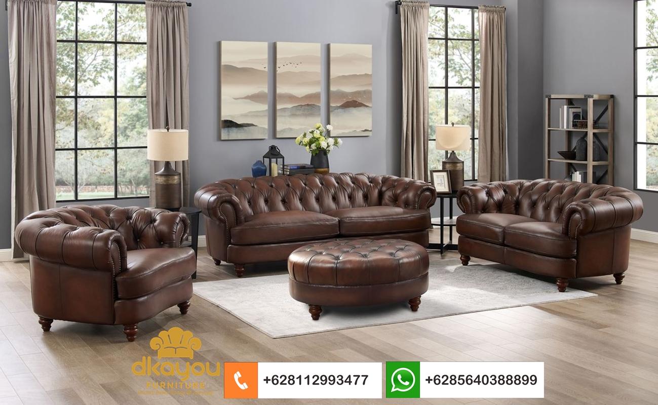 sofa kulit terbaru