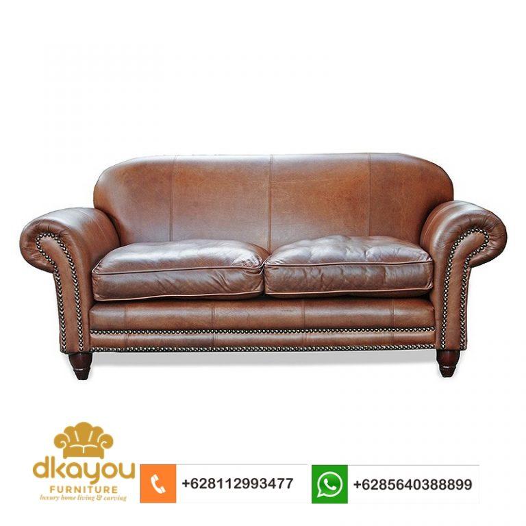 sofa kulit sapi