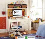 model meja belajar anak minimalis terbaru 2021